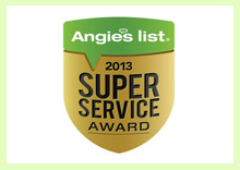 angies list super service award 2013